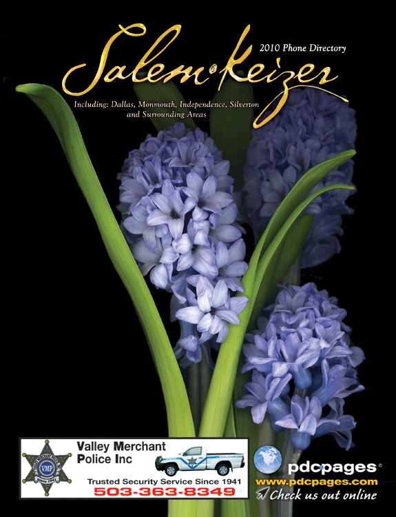 SALEM, OREGON COVER